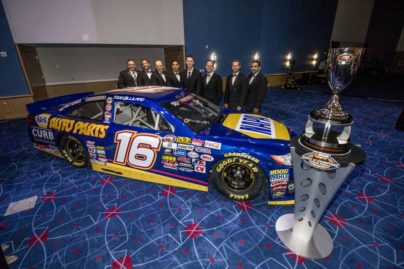 NASCAR Night of Champions 2016 NAPA AUTO PARTS Todd Gilliland BMR team