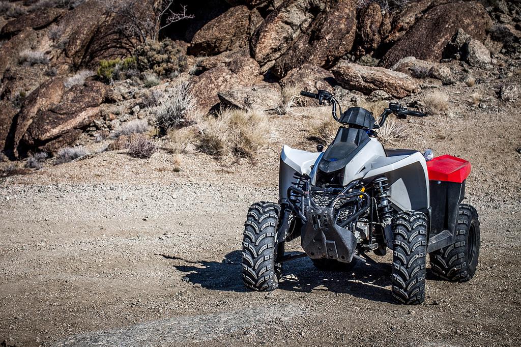 ATV on the trail