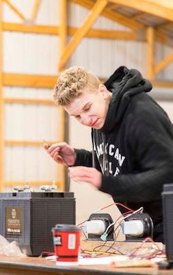Mechanics Competition wiring