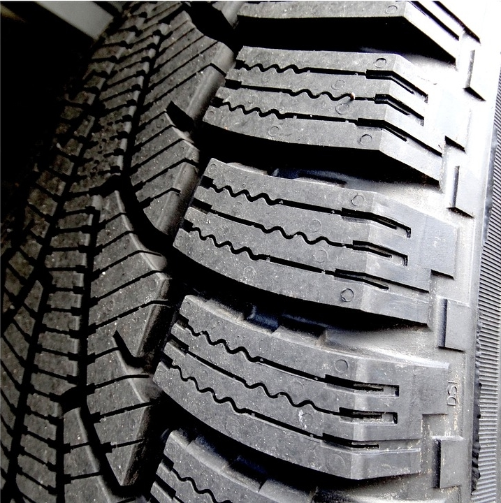Softer rubber and special tread blocks improve winter traction.
