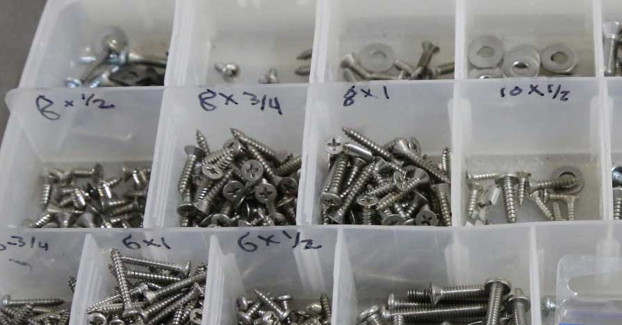 A Guide To Common Screws