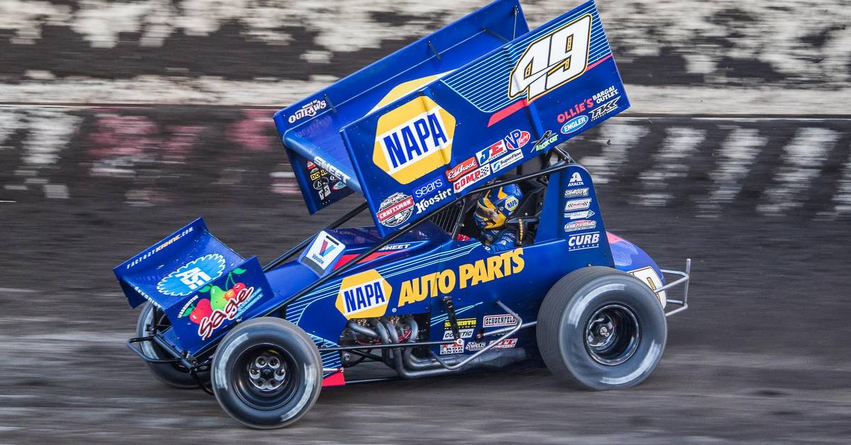 Brad Sweet NAPA AUTO PARTS 49 Tulare 2017 speed