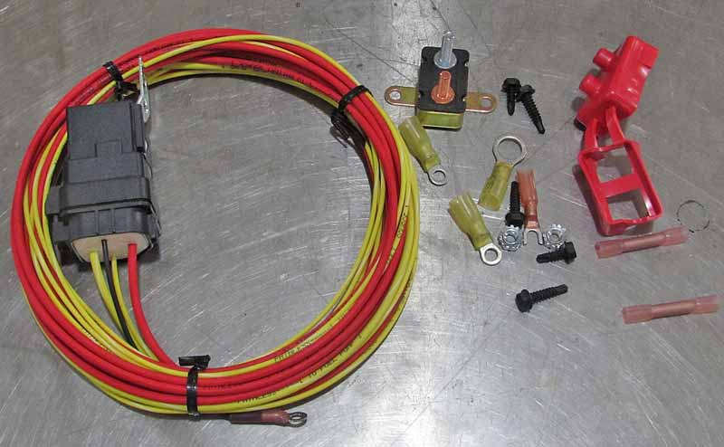 The Painless Performance relay kit comes with everything you need for most installations.