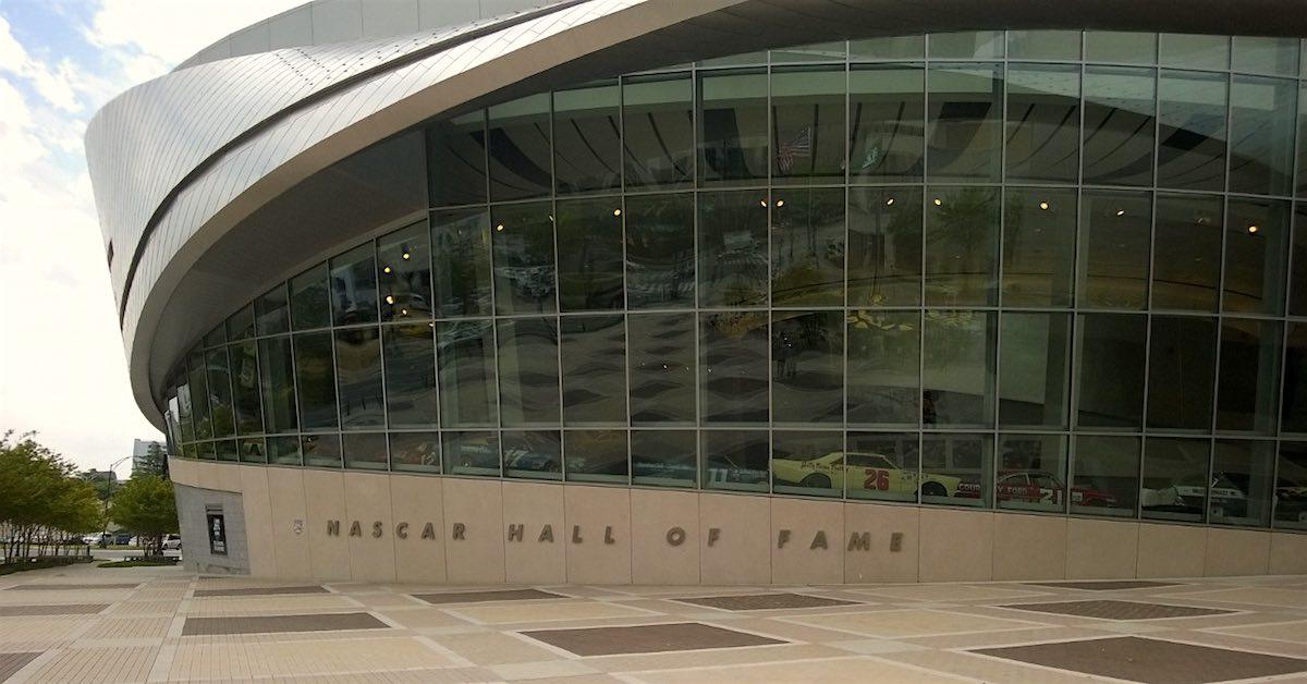NASCAR Hall of Fame Entrance