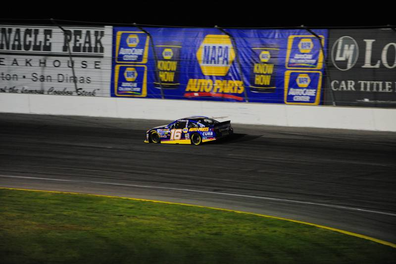 Todd Gilliland on track