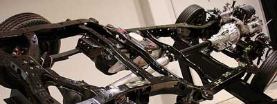 Car Chassis - Toyota Tundra Body-on-Frame Construction