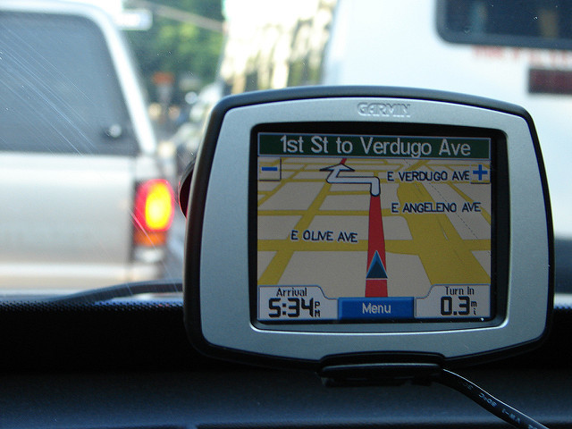 GPS mount for added vehicle value