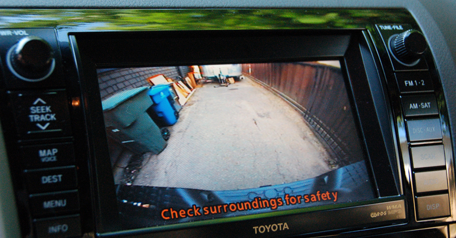 Back-up camera can add vehicle value