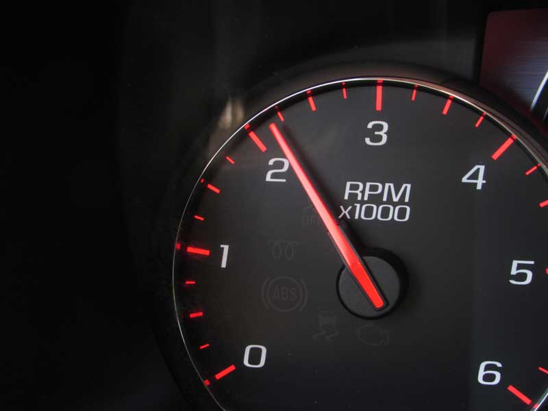 Have your helper keep the engine at 2,000 RPM, this is important so the engine does not stall.