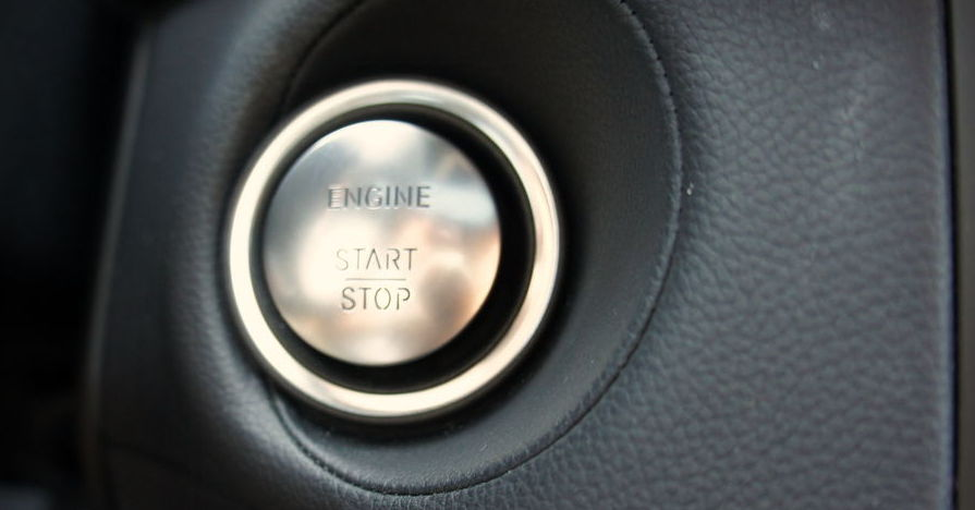 Push button starter