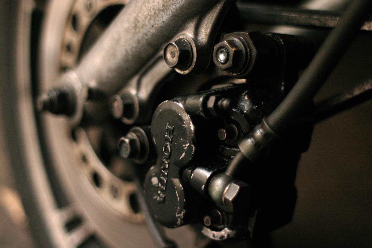 Motorcycle brake system