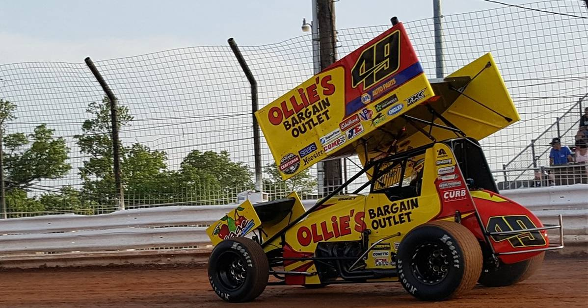 Brad-Sweet-Top-Ten-Finishes-Lincoln-Williams-Grove-2017-KKR-sprint-car