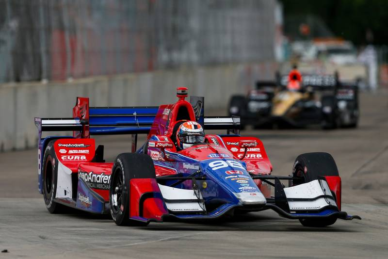 Verizon IndyCar Series Chevrolet Detroit Grand Prix Race 1 Raceway at Belle Isle Park, Detroit, MI USA Saturday 3 June 2017 Alexander Rossi, Andretti Herta Autosport with Curb-Agajanian Honda World Copyright: Jake Galstad LAT Images