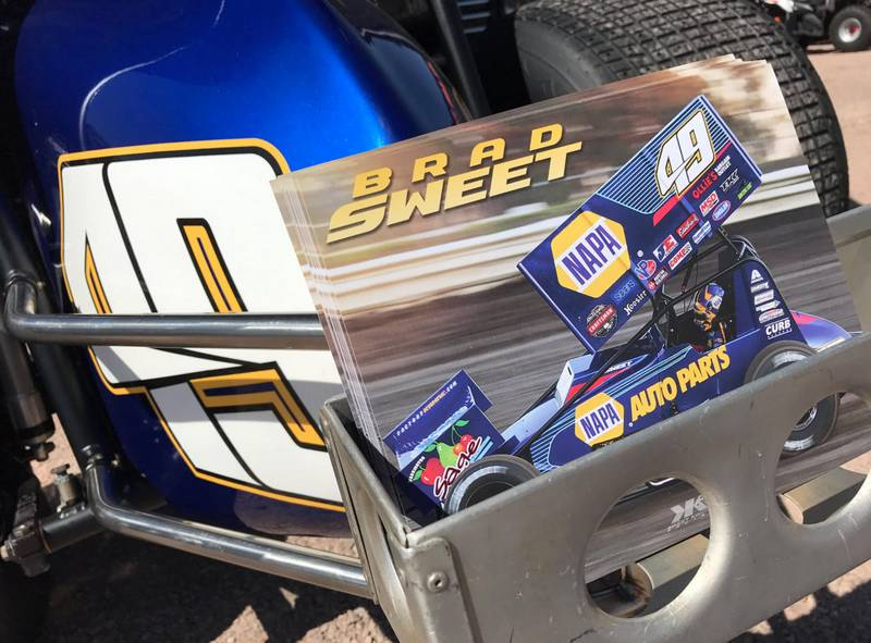 Brad Sweet flyers