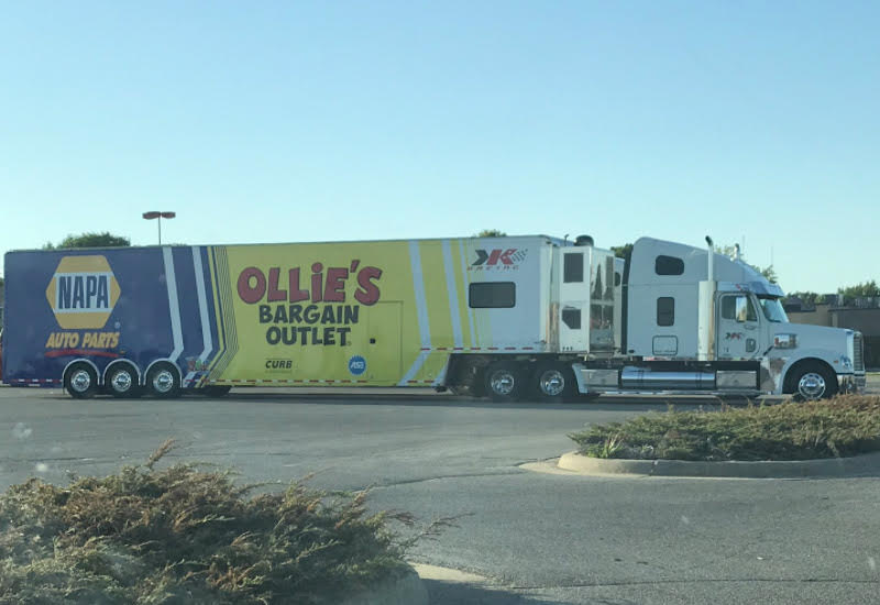 Brad Sweet tractor trailer