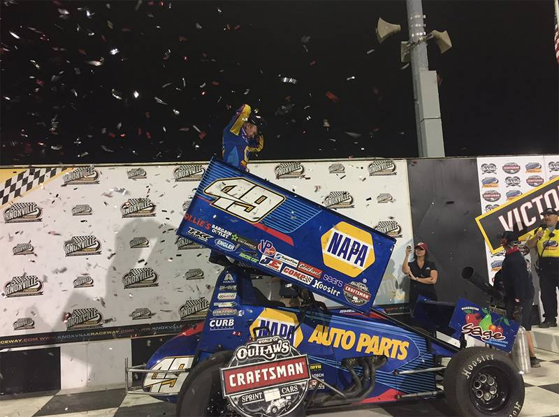 Brad Sweet Wins in Knoxville