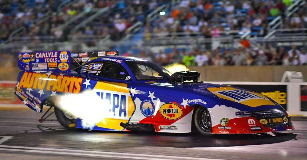 Ron-Capps-Route-66-Nationals-2017-Wally-NAPA-AUTO-PARTS-IFHF-funny-car-candles-lit