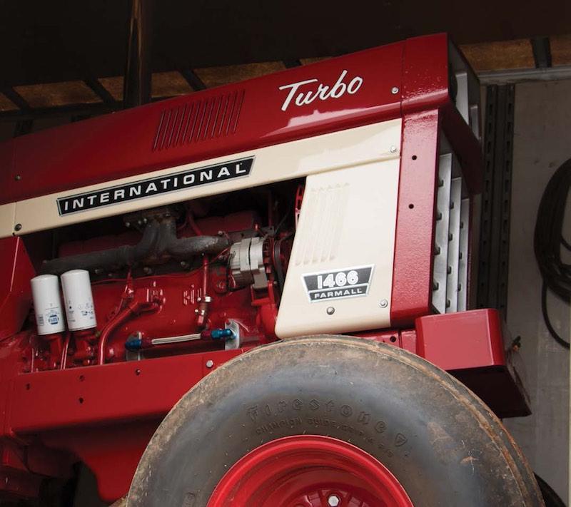 Bob Chambers tractor