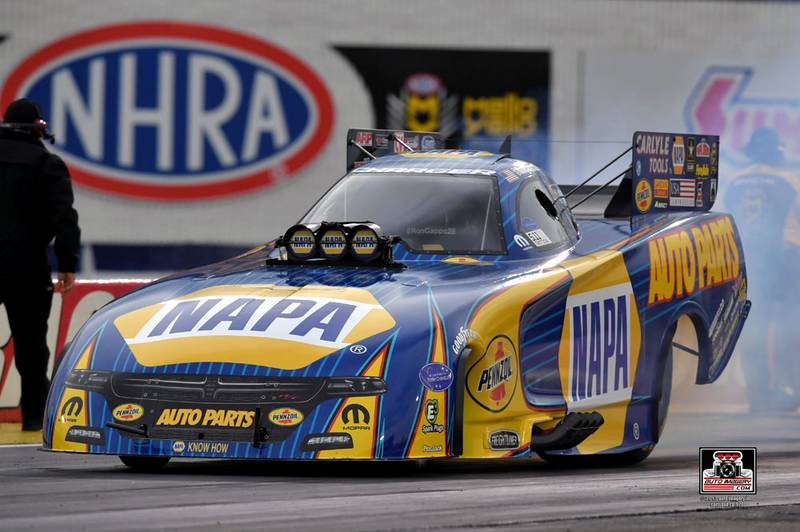 Reigning NHRA Champ Capps Drives NAPA Dodge to U.S. Nationals Final Round