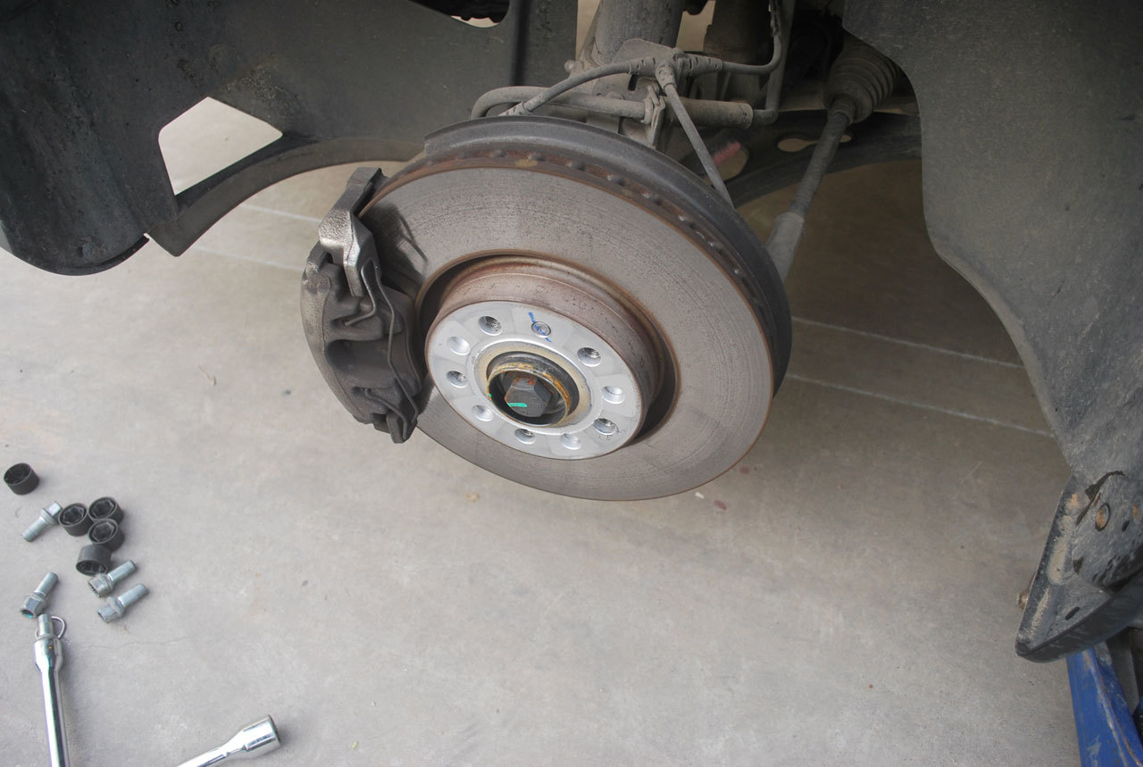 Brakes in a Garage, Ready for Repair
