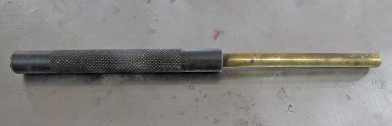Another type of punch is the soft brass punch. these are used on delicate materials.