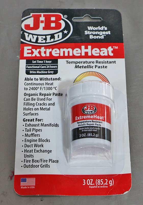 Buy JB Weld ExtremeHeat now!