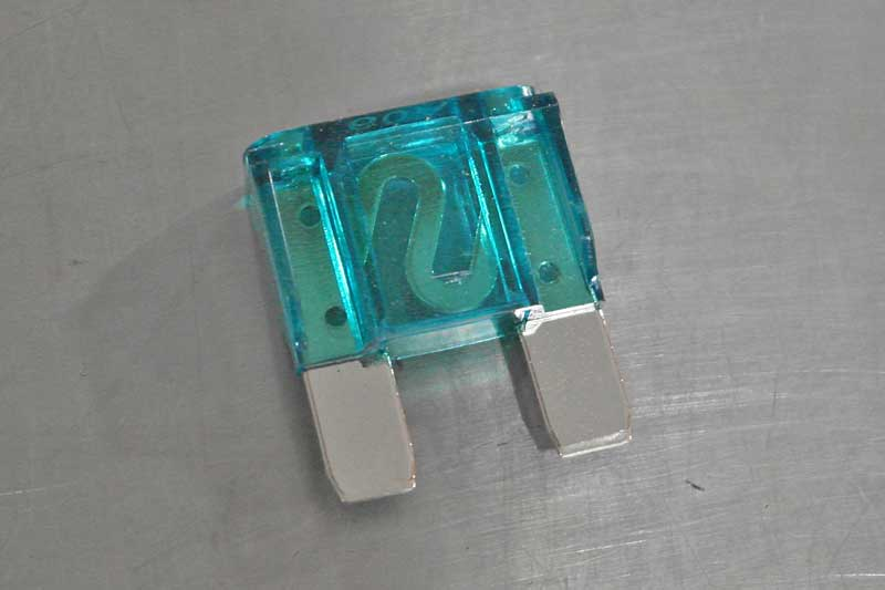 This is the big boy MAXI fuse, these are used for high-current applications.
