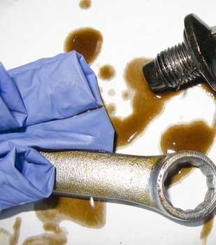 Stripped Oil Drain Plug