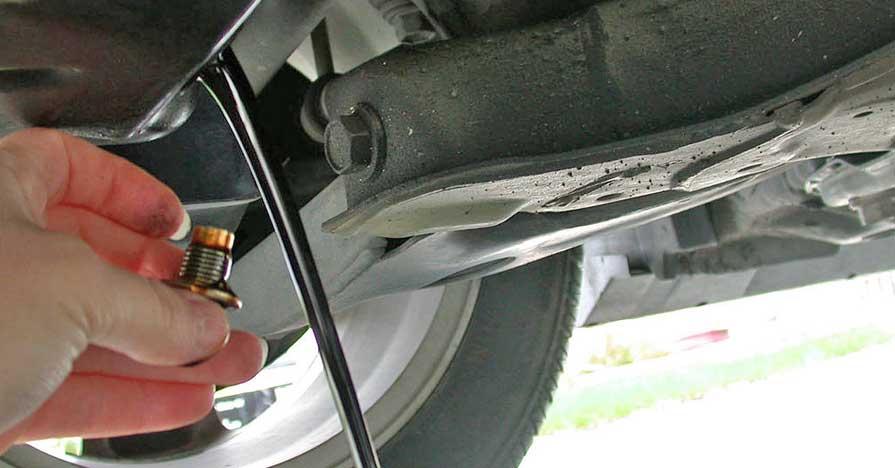 oil drain plug