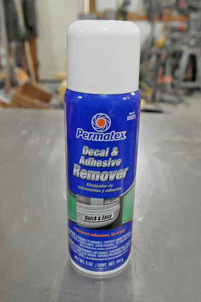 Most adhesive removers are citrus oil based, like this one. Citrus-based removers are skin-friendly. The more aggressive removers are xylene based, which you don't want to handle with bare skin.