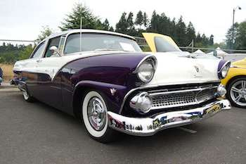 On display at the classic car show at Lakefair 2008, on the shore of Capitol Lake in Olympia, Washington