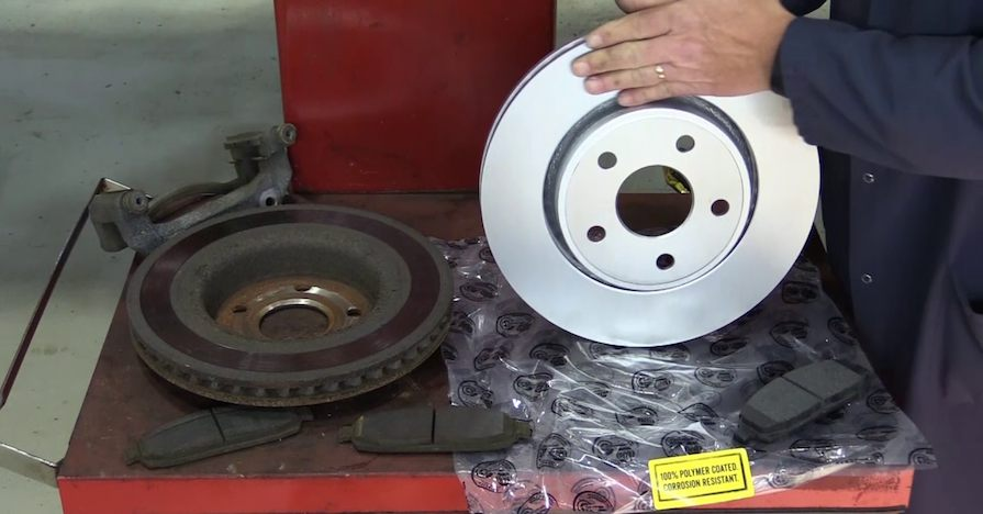 what are coated brake rotors