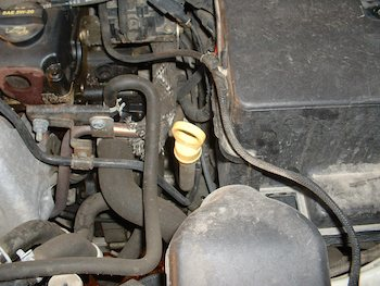 Automatic transmission dipstick