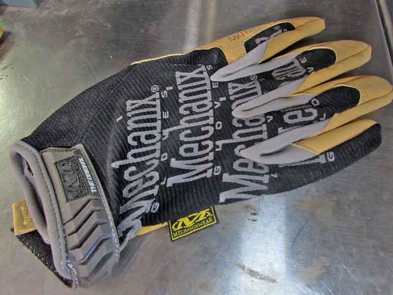 For everything else, a good pair of Mechanix Wear or other work gloves keep your hands protected.