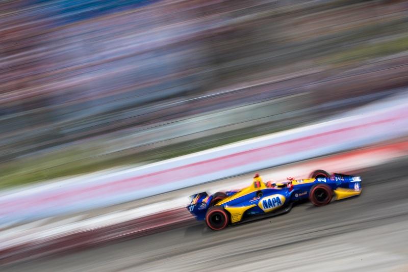 | Photographer: Dan Bathie| Event: Toyota Grand Prix of Long Beach| Circuit: Streets of Long Beach| Location: Long Beach| Series: Verizon IndyCar Series| Season: 2018| Country: US| | Driver: Alexander Rossi| Team: Andretti Autosport| Number: 27| Car: Honda|