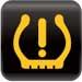 TPMS (Tire Pressure Monitoring System) warning light