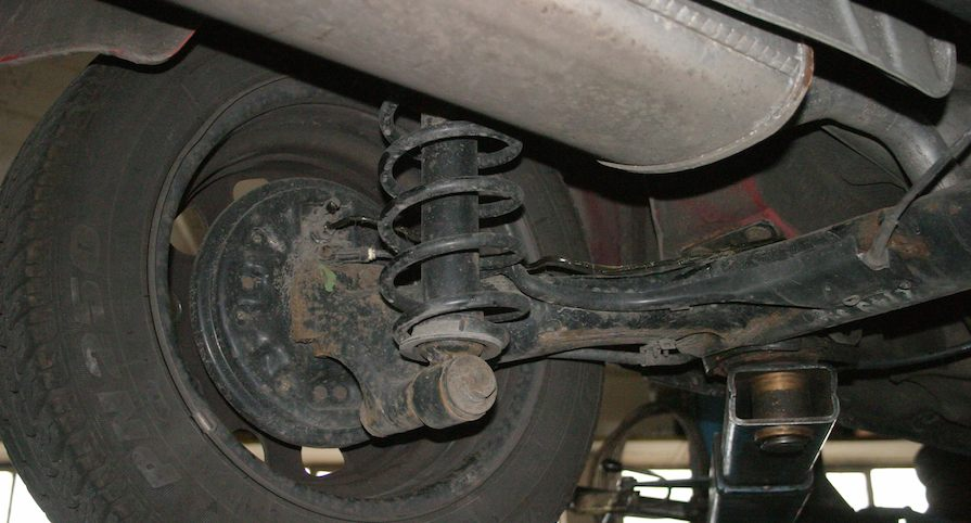 coil spring suspension types