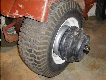 Wheel Weights can Improve Traction without Switching for Grippier riding Mower Tires