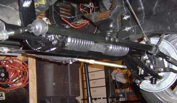 A New Rack and Pinion In a Vehicle Restoration Project