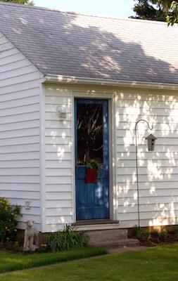 Open the outside garage door to ensure proper ventilation.