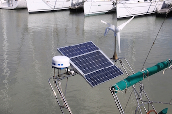 Solar panels take the load off your electrical system.