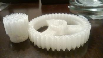 3D-printed gears