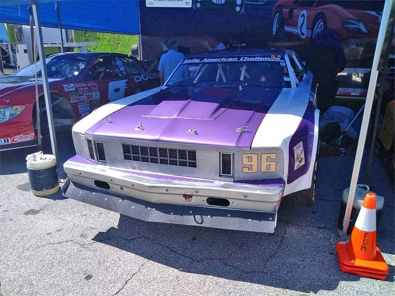 Gene Felton's Nova race car