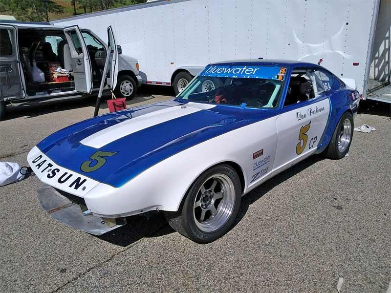 A Datsun racecar