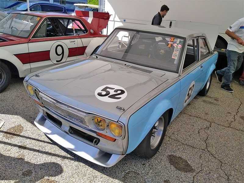 Nissan Bluebird racecar