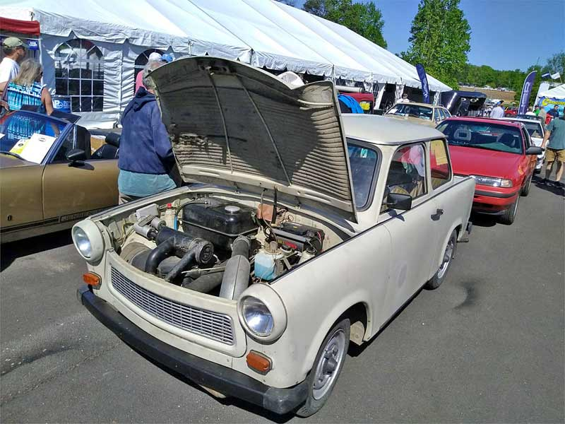 Not too many Trabants in the USA.