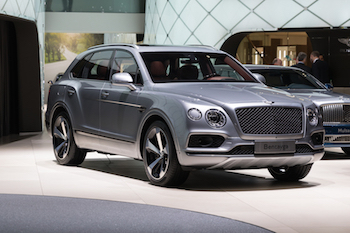 This Bentley Bentayga is one of the first vehicles to employ a 48 volt system.