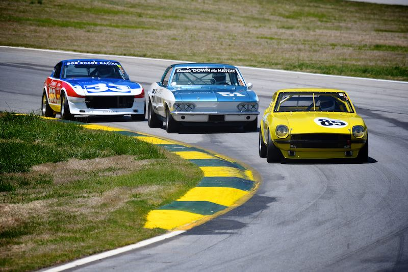 Nissan was the featured marque at the 2018 Classic Motorsports Mitty, held April 28-29 at Road Atlanta.
