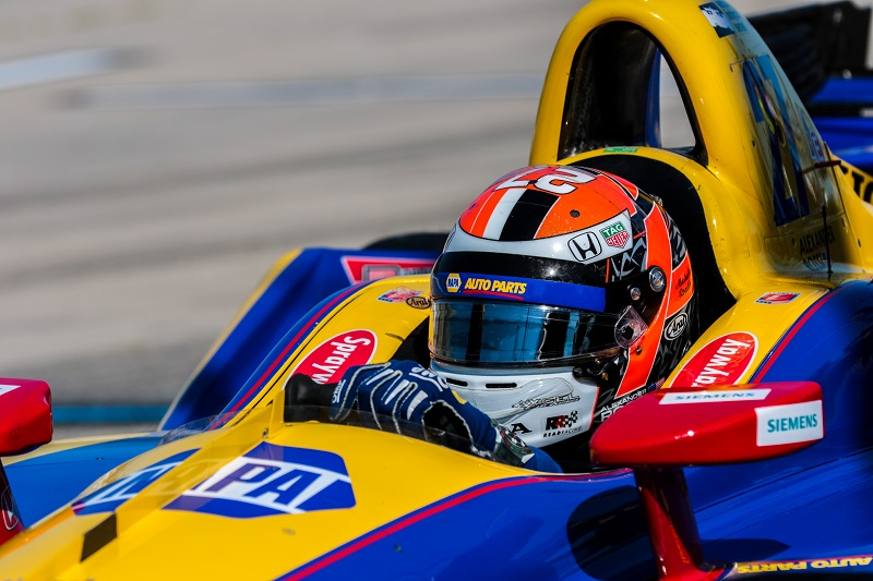 Alexander Rossi earned his 24th top-ten finish when he crossed the finish line at Sunday afternoon's Iowa Corn 300.