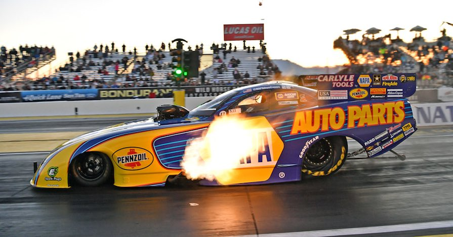 Ron Capps funny car tires Drag Racing